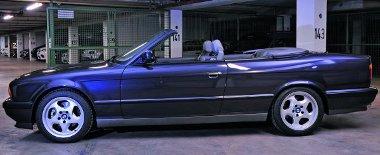 Az E34-es 5-ös alapvetően mutatós autó, na de kabrióként...