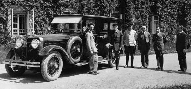 Tomas Masaryk volt a Skoda Hispano Suiza első vásárója