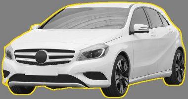 Ötajtósként is sportos maradt a Mercedes A-osztály, amelyről ezek a képek már hivatalosak