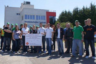 Autóversenyzők is támogatják a Cselekvés Évtizedét