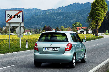 Kétezer kilométer jórészt autópályán, 2,2 l/100 km-es átlaggal. A Skoda Fabia GreenLine és Gerhard Plattner kombinációja verhetetlen