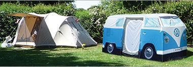 Nem kérdés, melyik sátor az érdekesebb