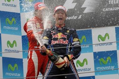 Tavaly Mark Webber nyert Spanyolországban