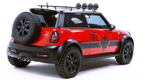 Csak megjelenésében terepjárós a Mini Red Mudder