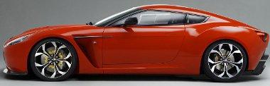 Az ismert alu-térvázra épül a V12 Zagato, a motorja 510 lóerős