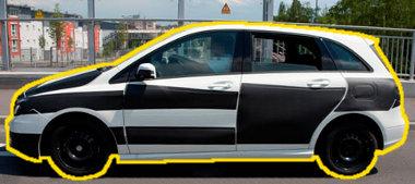Kompakt egyterű lesz a Mercedes B-osztály, valószínűleg csak két üléssorral