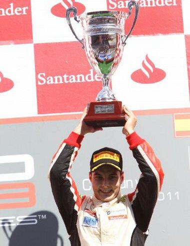 Alig kezdődött el az első szezonja a GP3-ban, máris futamgyőztes Kiss Pál Tamás