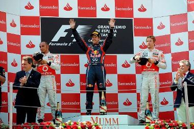 Az utolsó körökben komolyan megdolgozott a győzelemért Sebastian Vettel