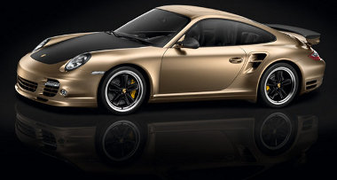 Arany színű fényezés, karbon keigészítők a Porsche kínai piacra lépését ünneplő 911-esen