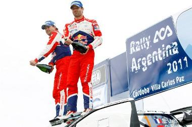 Hatodjára nyerte meg az Argentin ralit Sebastien Loeb