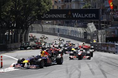 A rajt simán ment Monacóban, a verseny vége azonban kaotikus lett