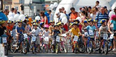 Több mint ötszáz gyermek vett részt a Michelin Bringafesztiválon