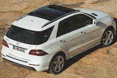 ML 250 - nem lesz alulmotorizált a biturbó négyhengeressel az ötméteres SUV