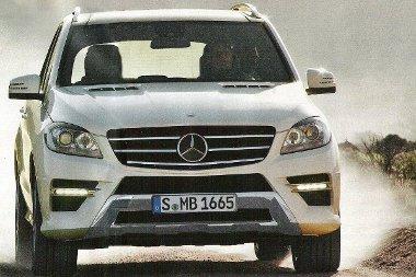 Sportosabb lett a Mercedes ML megjelenése - és ránézésre karcsúbb is