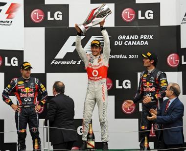 Vettel hibázott, ezért csak második lett. Jenson Button hatalmasat autózott