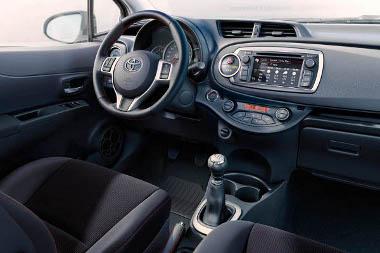 Búcsút mondhatunk a függőleges irányultságú műszerfalnak az új Toyota Yaris esetén