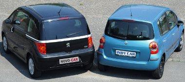 Mindkét magas építésű autó érzékeny az oldalszélre