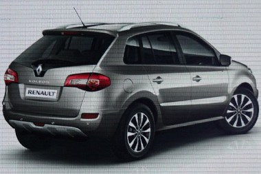 Hátulról nézve nincs újdonság a Renault szabadidő-autón