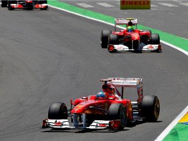 Alonso már egész jól terelgeti a Ferrarit. Vajon a Silverstone-i szigorítást követően még előrébb tud lépni?