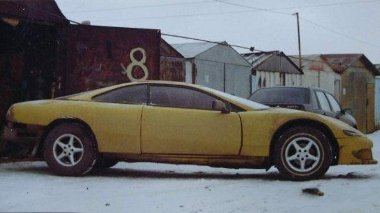 W126-os Mercedesből épült ez a kupé - egyszerűen elhasználódott