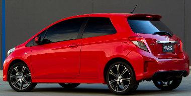 Rögtön sportcsomaggal mutatkozik be a háromajtós Toyota Yaris Ausztráliában