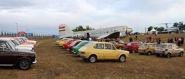 Több Fiat klub is kinézett a Repülőgép Emlékparkba a Múzeumok Éjszakáján