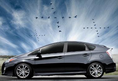 Még a vadludak is megkergülnek a Prius sportváltozat láttán