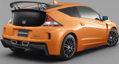 Szárnyakkal tették látványosabbá a Mugen tuningos Honda CR-Z-t