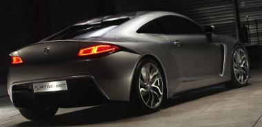 Úgy néz ki és úgy is megy, mint egy szuperautó: Furtive e-GT elektromos sportkocsi Franciaoszágból
