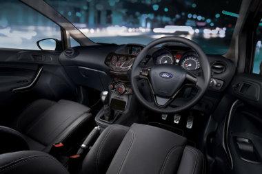 Gyorsabb a benzines Fiesta sportváltozat, a dízel egyszerűen takarékos