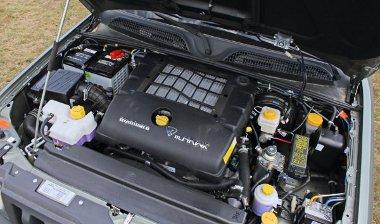 A 2,2-es dízelmotor tetején az intercooler
