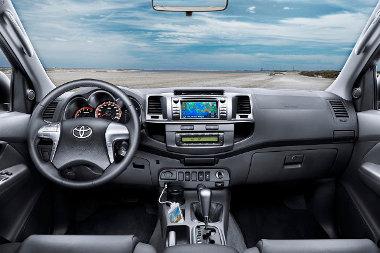 Új a Hilux műszerfala, és immár navigációs rendszer is rendelhető hozzá