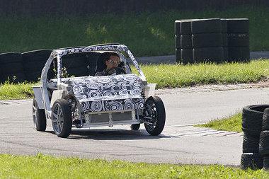 Karosszéria nélkül tesztelik a Müncheni Egyetem Mute elnevezésű elektromos autóját