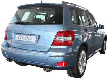 Hivatalosan ez még nem az európai, felfirssített GLK, hanem a Kínában gyártott modell, de eltér a most megvásárolható autótól