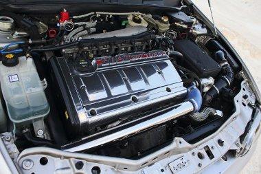 Nemcsak erős, hanem szépen is néz ki a tuningolt Fiat motor