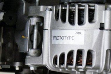 Prototípus felirat a generátoron - egyébként normális erőforás, még rendes motorszáma is van