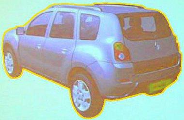 Hátulról is könnyen megkülönböztethető a Dacia Dustertől a Renault-átirat. Ez lehet a szabadidő-autó padlólemez második felhasználása