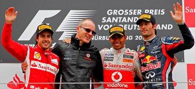 Hamilton és Alonso elkezdte Webber és Vettel üldözését a világbajnoki tabellán