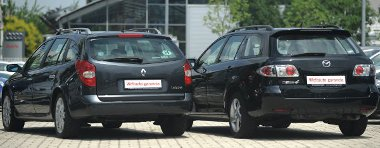 A Renault fogyasztása kisebb, mint a Mazdáé