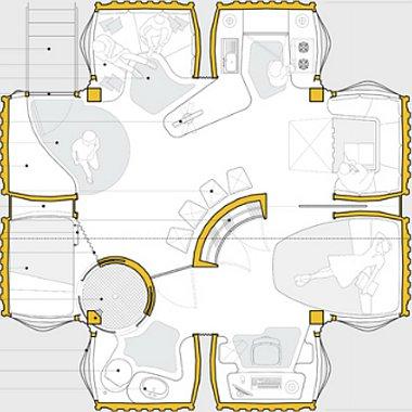 Nyolc Hummer karosszériából takaros ház hozható ki