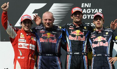 A tavalyi eredménnyel boldog lenne a Red Bull. Azonban per pillanat ez csak álomnak tűnik