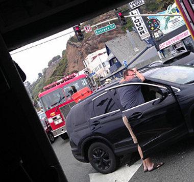 Még a mentőautóból is fényképezett a vétlen áldozat