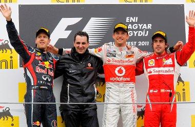 Vettel növelte előnyét a bajnokságban, Button joggal örülhet, Alonso meg kezd visszaszokni a dobogóra