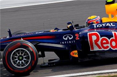 Mark Webber erejéből tisztes helytállásra futotta