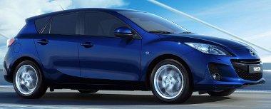 A fotókon kívül annyit árultak el, hogy kényelmesebb lesz az utastér a megújult Mazda3-ban