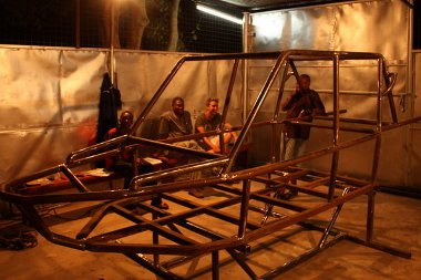 Manufakturális módszerekkel készült a Mobius One - a képen tulajdonképpen az egész gyár látható