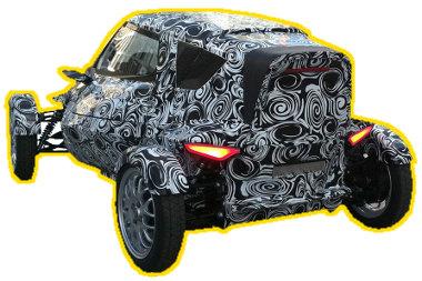 Szabadon álló kerekeket kap az egyszemélyes Audi elektromos autó. E1? A-1? Frankfurtban kiderül