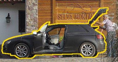 Nem volt nehéz kiszúrni az ingolstadti rendszámos autót a pampán