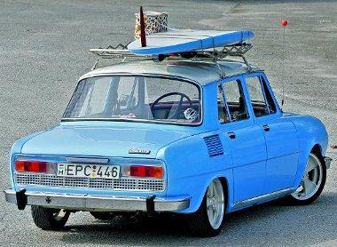Eredetileg okkersárga volt az 1975-ös gyártású Skoda S110