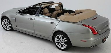 Az amerikai Newport convertible vágta le a négyajtós Jaguar XJ tetejét